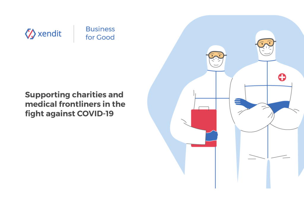 Xendit Business for Good charities