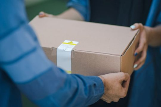 Delivering packages during Ramadan