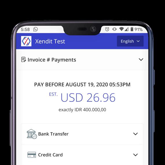 Payment Link UI